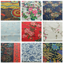 Stylish rural style fabric Fabric for garment Flower pattern fabric for dress Sewing fabric DIY accessories(ss-4961)