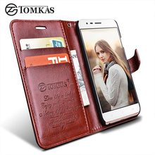 Case For ASUS ZenFone 3 Zoom ZE553KL TOMKAS Flip Wallet Leather Phone Bag Cover For ZenFone 3 Zoom ZE553KL Case Cover With Stand