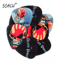 SOACH 10pcs Newest Five fingers band Guitar Picks Thickness 0.71mm hot diy strap Guitar Accessories(China)