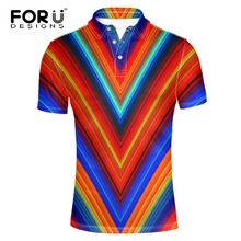 FORUDESIGNS 2017 Summer Mens Modern Cotton Polo Shirts Brands Clothing Luxury Brighted Color Man's Slim Fat Clothes streetwear(China)