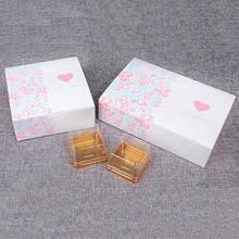 "25-30 PCS ""FOR YOU"" Printed Home Baking Cake Food Carton Boxes, Cookie Boxes Packaging, Mooncake Macaron Paper Box"
