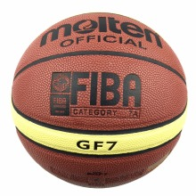 Molten Basketball Ball GF7 Size 7 PU Leather Basket Ball For Outdoor Basketball Game&Training Free With Ball Net Mesh+Needlle