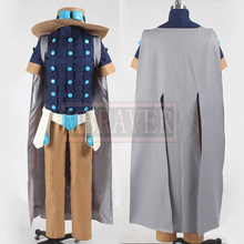 JoJo's Bizarre Adventure Steel Ball Run Gyro Zeppeli Cosplay Costume Custom Made Any Size Z2700(China)