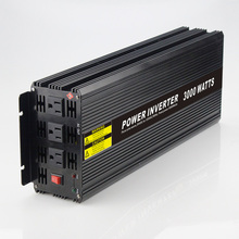 Real power 3000W Car Power Inverter Converter DC 48V to AC 110V or 220V Pure Sine Wave Peak 6000W Power Solar inverters(China)