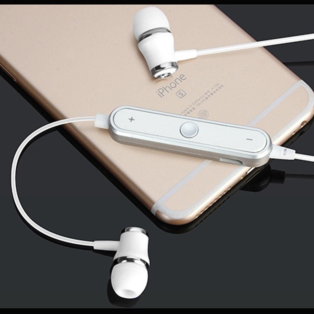 S6 Sports Bluetooth Earphone Fone De Ouvido Stereo Bluetooth Headset Wireless Earpieces Sweatproof for Run Gym LJ-MILLKEY LZ001