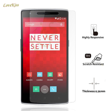 9H Premium Tempered Glass Screen Protector Film For Oneplus Three One Two 3 2 1 X OneplusOne One Plus 1+ 1 2 3 A0001 Cristal(China)
