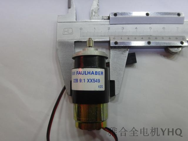 FAULHABER Faulhaber DC gear coreless motor 2230V040G + 22B 9:1-XX549<br><br>Aliexpress
