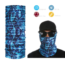 Custom Logo Printed Tube   Face Mask Neck Gaiter Dust Shield Seamless Bandana  free  shipping