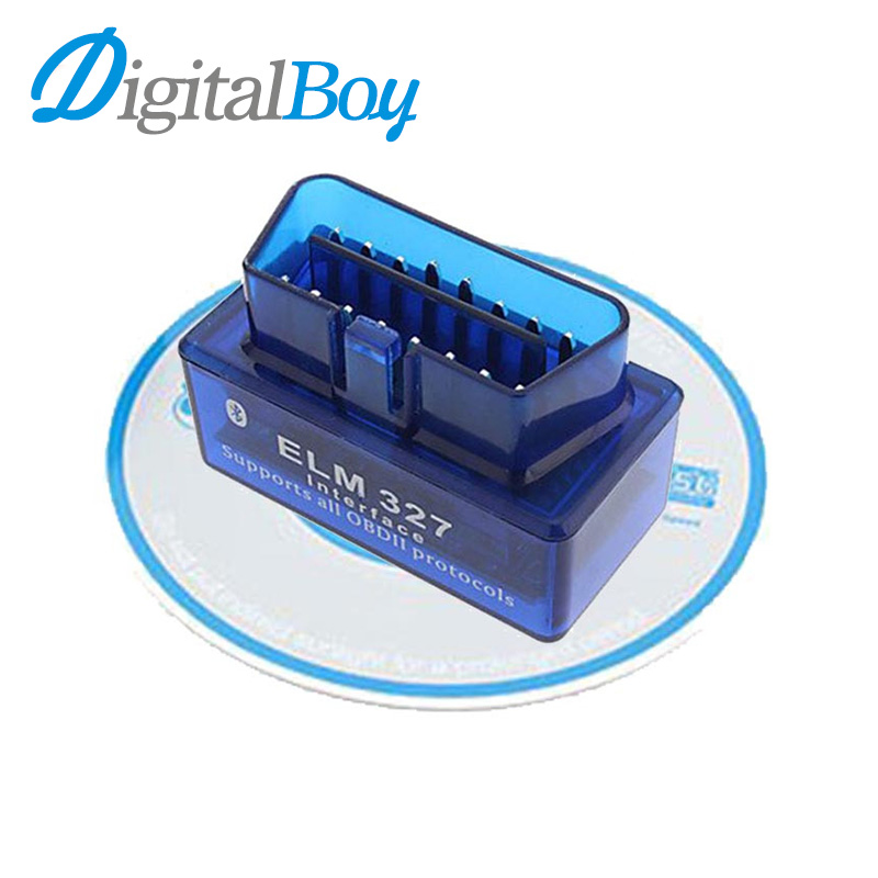 Car Diagnostic Scan Tool OBD2 OBDII ELM327 Mini Bluetooth V2.1 Car Diagnostic Tester Trip Computer Tracking Code()