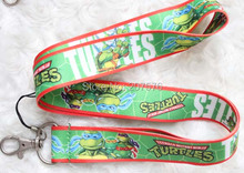 Hot Sale! Free Shipping 10/Lot  Japanese anime green Lanyard Keys ID Cell Phone Neck Strap Wholesale H-109
