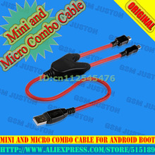 2017 NEW China Android Boot Mini and Micro Combo Cable Work for Volcano box +HK Post Free(China)