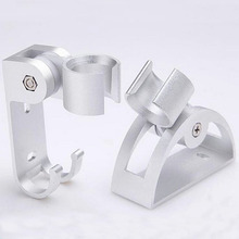 1 Pc Bathroom Adjustable Aluminum Hand Shower Head Stand Holder Fixed Seat Bracket Wall Mount Bath Hardware Accessory