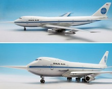new rare Fine IF 1/200 Pan Am Boeing B747-100 Passenger Model N732PA testing machine Alloy collection model Holiday gifts(China)