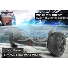 Hummer Ultra Wide Hoverboard Samsung Battery+Bluetooth+Speaker 2 Wheel Self Balance Scooters Electric Skateboard Hover Board()