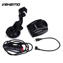 Vehemo Car Detector Speed Radar Single Flow Detection Devices Alarm DC12V ABS(China)