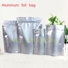 50pcs/lot High Quality Aluminum Foil stand up Zip Lock Valve Zipper Plastic Retail Packaging Pack Bag Storage Bag Retail