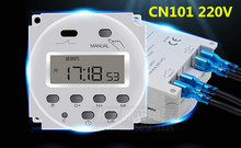 OKtimer brand   CN101A AC 220V 230V 240V Digital LCD Power Timer Programmable Time Switch Relay 16A timers CN101 timer