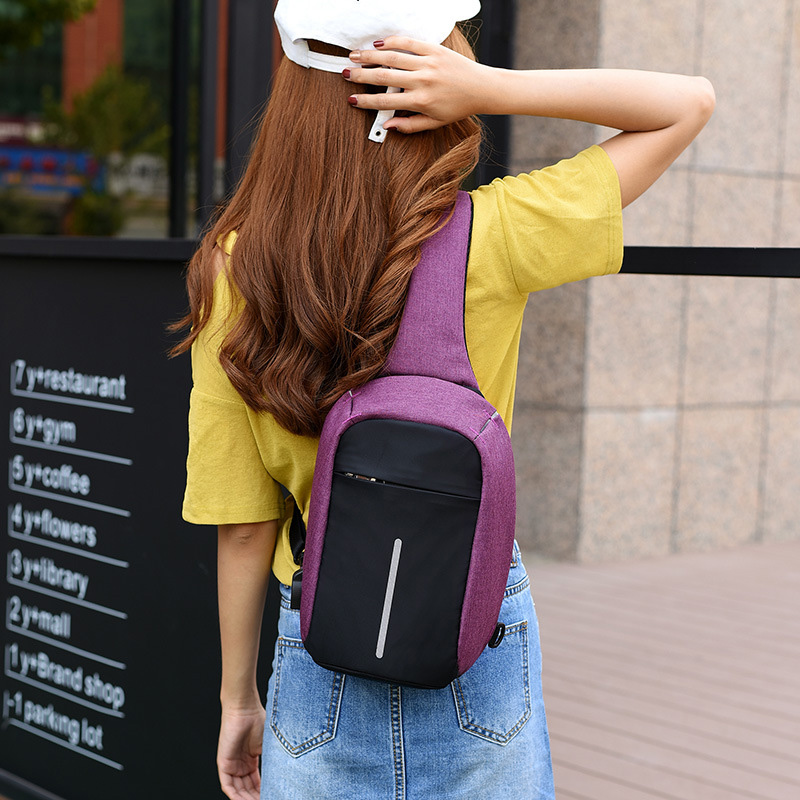 Men Anti Theft Backpack USB Rechargeable Crossbody Women Bags Boys Girls Single Shoulder Bag Backpacks Sac A Dos Homme BP0205 (24)