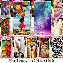 TAOYUNXI Soft Plastic Mobile Phone Cases For Lenovo Vibe B A2016 A1010 A20 A1000m A Plus APlus A1010a20 A 1010 Covers Case(China)