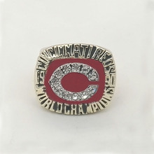 Thw Lowest Price for Replica Newest Design Arrival 1990 Cincinnati Reds World Series Baseball  High Quality Championship Ring