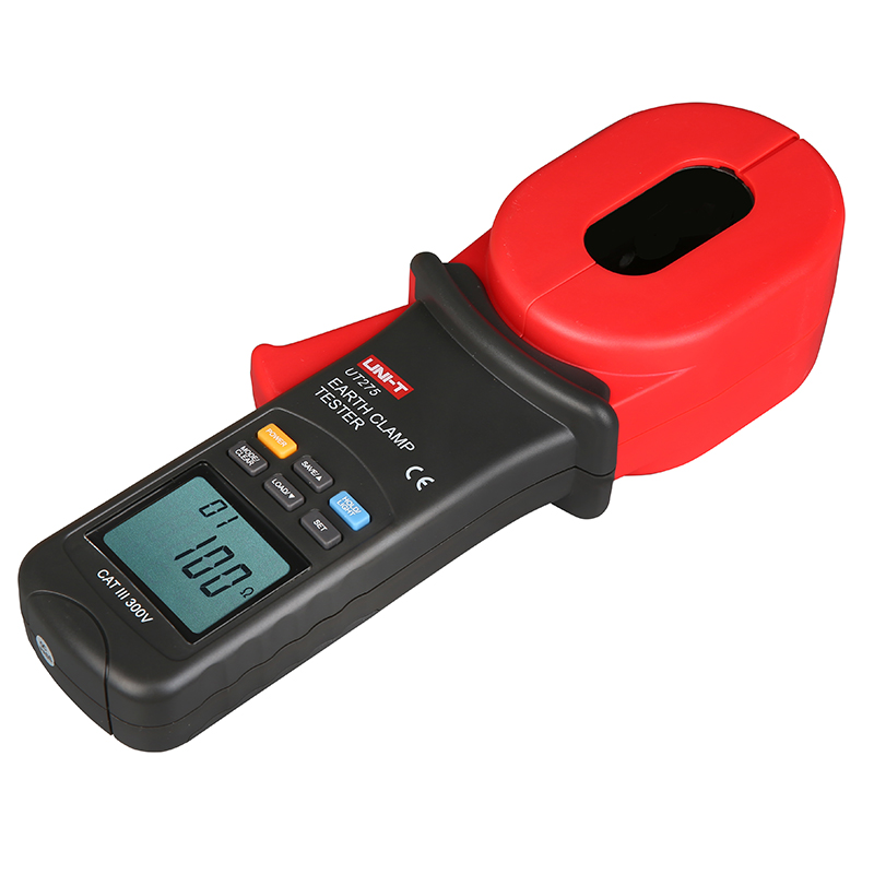 UNI-T UT275 Professional Auto Range Clamp Earth Ground Resistance Testers 0.01-1000ohm w 0~30A Leakage Current Tester UT2754