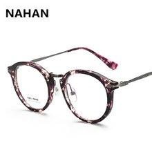 22b51f02c4f 2018 Latest Retro Floral Plain Mirror Eyeglass Frame Women Round TR90 Glasses  Frame High Quality Myopia Female Eyewear Frame
