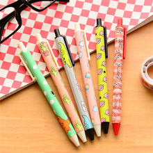 0.5mm Cute Cartoon Gel Pens Lovely Kawaii Automatic Pen For Kids Student Gift Korean Stationery Free Shipping 2137