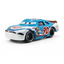 No. 90 Pixar Cars Diecast Metal bumper save for children Toy Car 1:55 Loose new brand McQueen Racing car Model Toy For Kid(China)