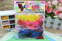 450pcs/lot hair accessories for girls kids Rubber Hairband Rope Ponytail Holder Elastic Hair Band Ties Braids Plaits