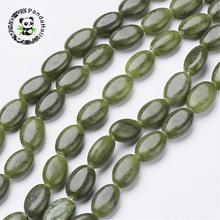 "15"" natural stone beads strands, oval, taiwan, about 8mm wide, 12mm long, hole: about 1mm, about 33pcs/strand(China)"