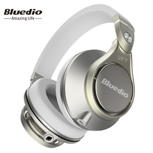 Bluedio UFO PLUS High-End Wireless Bluetooth headphones PPS12 drivers  Headband with microphone
