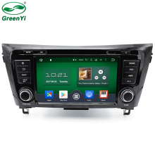 "GreenYi 8"" Octa Core Android 6.0.1 Car DVD Player Fit Nissan Qashqai X-Trail 2014 2015 2016 Stereo Radio TV 4G GPS Navigation(China)"
