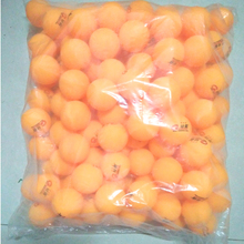 Wholesale Ping Pong Balls 100pcs Yellow Table Tennis Balls 40mm Table Tennis Balls New Material Plastic Competition Training(China)