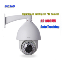 UVEIWN 1000TVL SONY EFFIO CCD 300X Outdoor intelligent IR PTZ Camera Auto Tracking Heater Fan 120M IR Distance free shipping