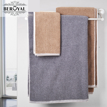Beroyal Brand 100% Cotton Solid Bath Towels 83 X 160cm Size Cotton Bath Sheet Comfortable Usage