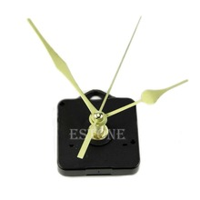 Quartz Clock Movement Mechanism Long Spindle Gold Hand Kit(China)