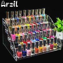 5 Tiers Jewelry Display Stand Holder Makeup Cosmetic Clear Acrylic Organizer Lipstick Nail Polish Rack 31X22.3X17cm