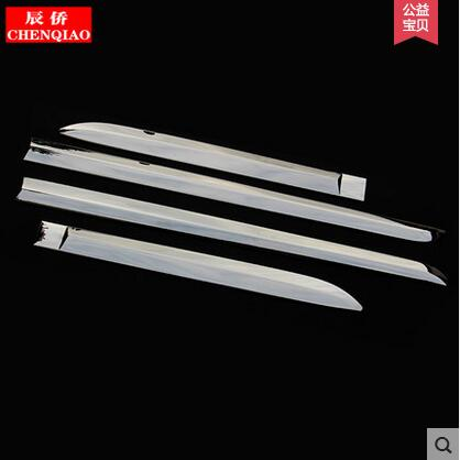Stainless steel auto side door trim moulding for Mitsubishi Pajero sport 2014, auto accessories<br><br>Aliexpress