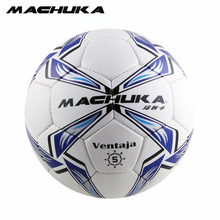 2017 MACHUKA New Arrival Men's Official Standard 5#PU Leather Football Wear-resistant hand sewn Soccer ball for Match Trainining