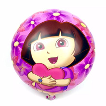 round balloon self inflating balloon ballons globos character cartoon decoration wedding birthday party dora balloons