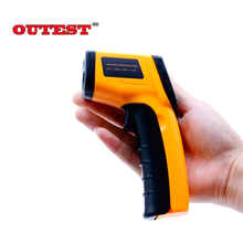 GM320 Non-Contact IR Infrared Thermometer -50 to 380C Digital Laser Temperature Meter Sensor Gun Point