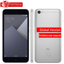 "Xiaomi Redmi Note 5A Global Version 2GB 16GB ROM 5.5"" Snapdragon 425 Quad Core Gorilla Glass 1280x720p FDD LTE 4G 13MP MIUI 8.5(China)"