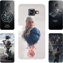 Game Of Throne House Stark Lannister Hard Painting Case For Samsung Galaxy A3 A5 A7 A8 2016 A310F A510F A710F Phone Printed Case