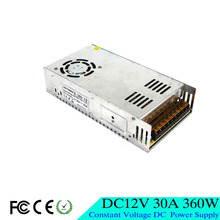 Best quality 12V 30A 360W Switching Power Supply Driver Transformer AC 110V 220V Input to DC12V UPS for LED Strip Light 3D print