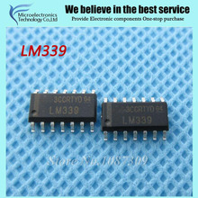 10pcs free shipping LM339 LM339DR SOP-14 Comparators Lo-Pwr Quad Voltage new original(China)