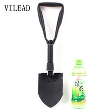 VILEAD High Quality M Folding Shovel Outdoor Camping Shovel Survival With Trowel Tools With Snow Spade Pick Saw Multifunction