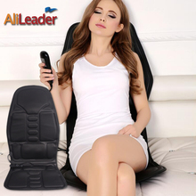 Ultrathin Comfortable Portable Massage Chair Back And Neck Massager Shiatsu Massage Heater Car Seat Lower Back Massager For Car(China)