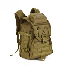 NEW Backpack Large Capacity Canvas Travel Bag Mountaineering Army Military Trekking Rucksack Backpack Camo storage bag(China)