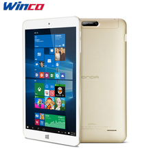 "Onda V80 Plus Windows 10 + Android 5.1 Dual OS Tablet PC 8.0"" IPS Intel X5-Z8300 Quad Core Dual Camera HDMI 2GB Ram 32GB Rom"