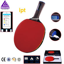 Intelligent High-Level IPT Table Tennis Racket Fitness Smart High-Tech Count Consumption Of Calories Products Racket